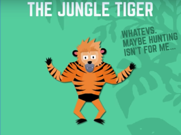 Jungle tiger
