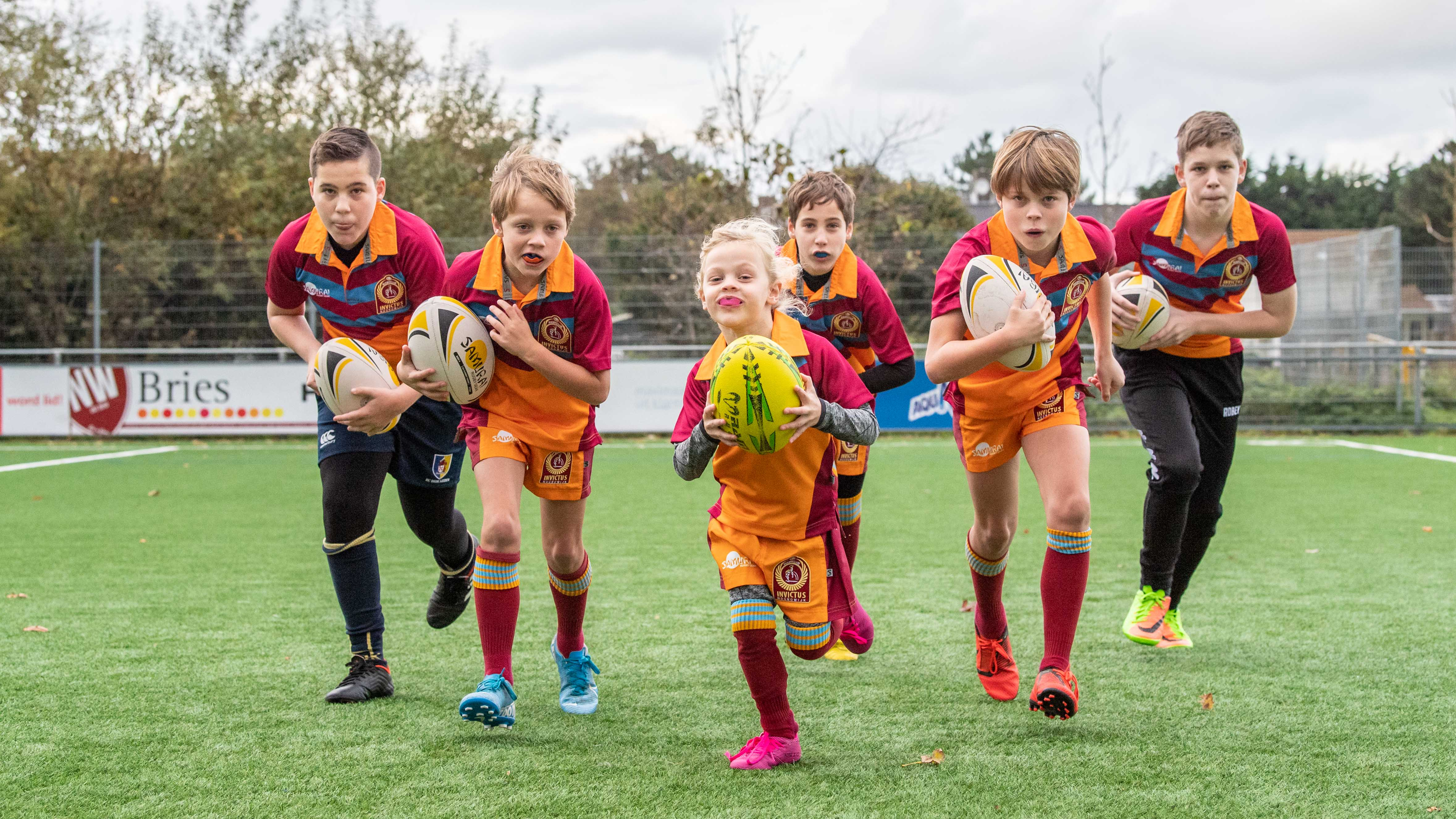 Kids love rugby